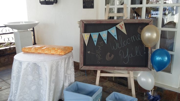 Blue Baby Shower @ Villa Maria Guest Lodge