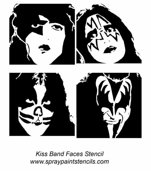 Kiss Band Makeup: 8 Best Coloring Book: Kiss Images On Pinterest