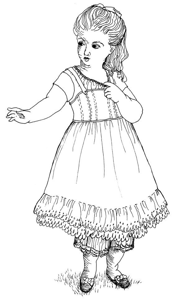 17 Best Images About Doll Patterns 1 On Pinterest Sewing American Doll Coloring Sheets Printable