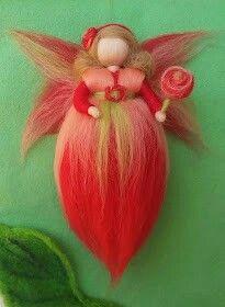 """Hada encontrada en el blog """"bellezadelana.blogspot.com.es"""" Me han encantado sus tonos"""