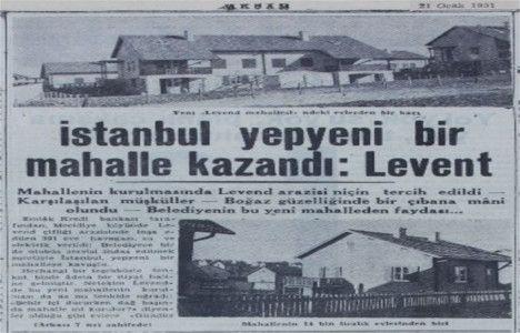 BAHÇELİ, MÜSTAKİL EVLERDEN OLUŞAN LEVENT, NE ZAMAN KURULDU? Yanıt veriyoruz: 1951'de... Bugün Levent'teki villa tipi evlerden satın almak isteseniz, kaç liraya ihtiyacınız olur? 1951 yılında, satın almak için 14.000 lira yeterliymiş... İşte Ocak 1951 tarihli Akşam gazetesinden Levent ile ilgili bir haber kupürü... #İstanbulNostaljisi