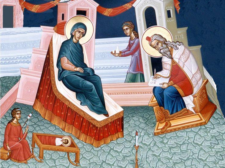Στή Γέννηση τοῦ Ἁγίου Προφήτου Προδρόμου καί Βαπτιστοῦ Ἰωάννου