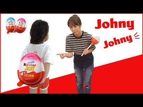 nice  엄마 몰래 킨더조이 먹기!! 서은이의 킨더조이 초콜렛 조니조니예스파파 사랑해 키즈카페 콩순이 뽀로로 베렝구어 Johny Johny Yes Papa
