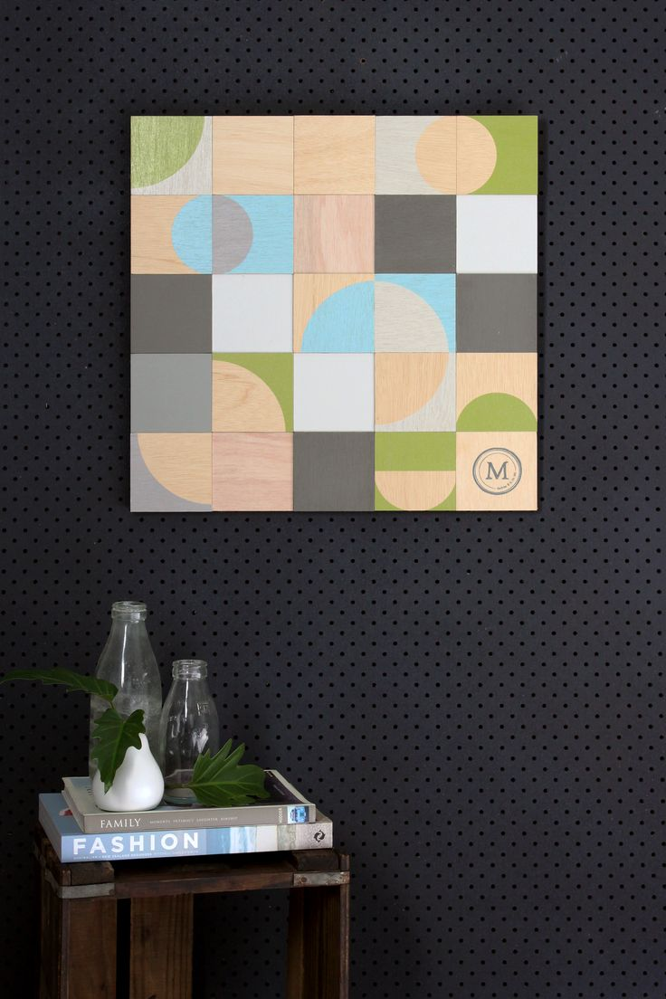 Artwork/ Plywood Artwork: Click here to view 'Round-a-bout' $225.00