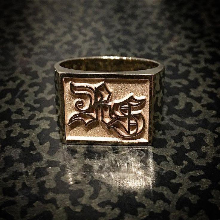Bague en or par Rico the jeweller