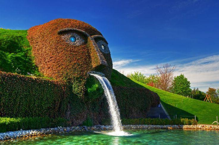 Swarovski Kristallwelten-museum bij Wattens nabij Innsbruck. Leuke excursie!