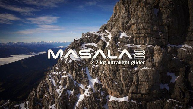 MASALA2 - skywalking ultralight.  by WOOProductions & skywalk Paragliders Location: Dachstein, Austria  for more information visit: http://skywalk.info/en/products/masala/  The EN A certified mountain glider suits beginner pilots as well as experienced hike&fly adventurers, looking for a reliable and compact companion with enough performance to launch and fly safely even in the roughest terrain. Starting from only 2.7 kg, the combination of latest technologies and light but ...