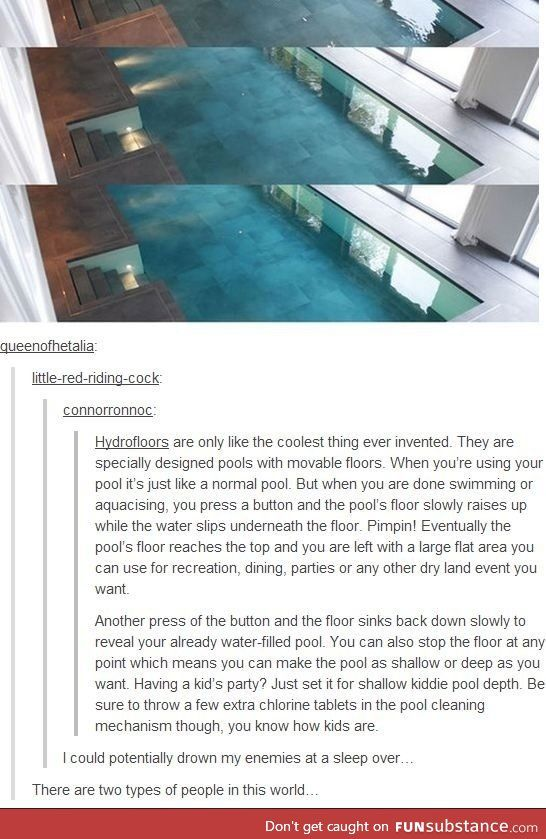 "As soon as it said how the pool worked, my first thought was, ""It would be really easy to kill someone that way"""
