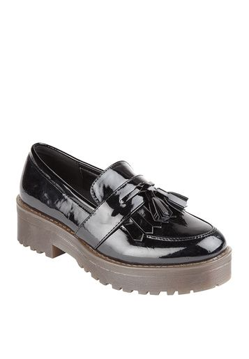 Truffle CollectionBlack Moccasins