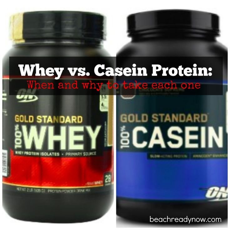 Powder Protein: Whey vs. Casein - When (and why) to take each one to maximize performance