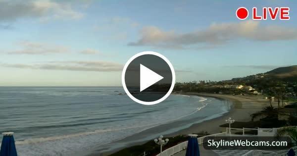 Panoramic view from Laguna Beach in California