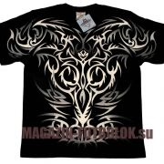 Абсолютно новая Tattoo футболка для байкеров и рокеров