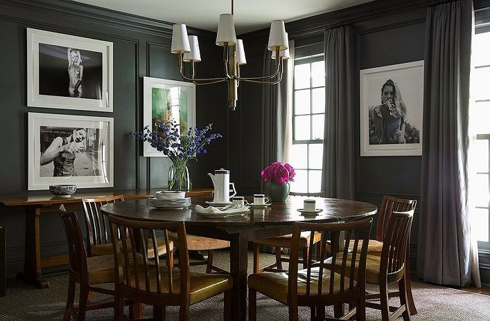 This gorgeous six-bedroom Connecticut home is designed by Mark Cunningham for Edie Parker founder, Brett Heyman and her family. Marrying ...