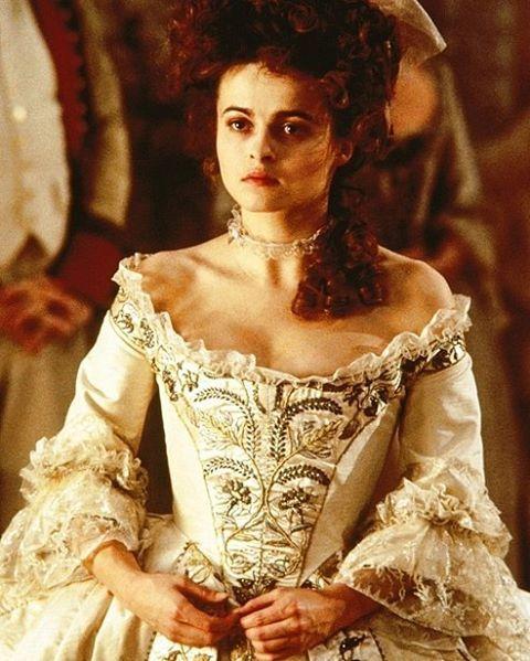 Worn by Helena Bonham Carter in Frankenstein (1994). Costume Design by James Acheson