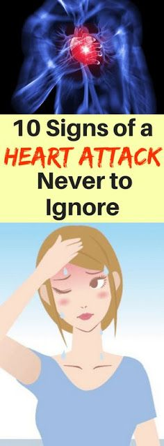 10 Signs of a Heart Attack Never to Ignore