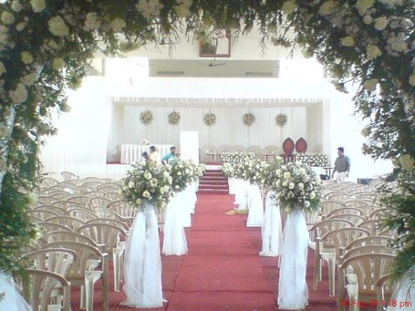 Stage Decor for Wedding