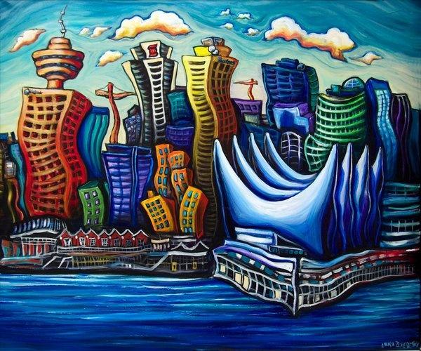 Vancouver cartoon.