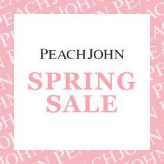 PEACH JOHN 春物セール
