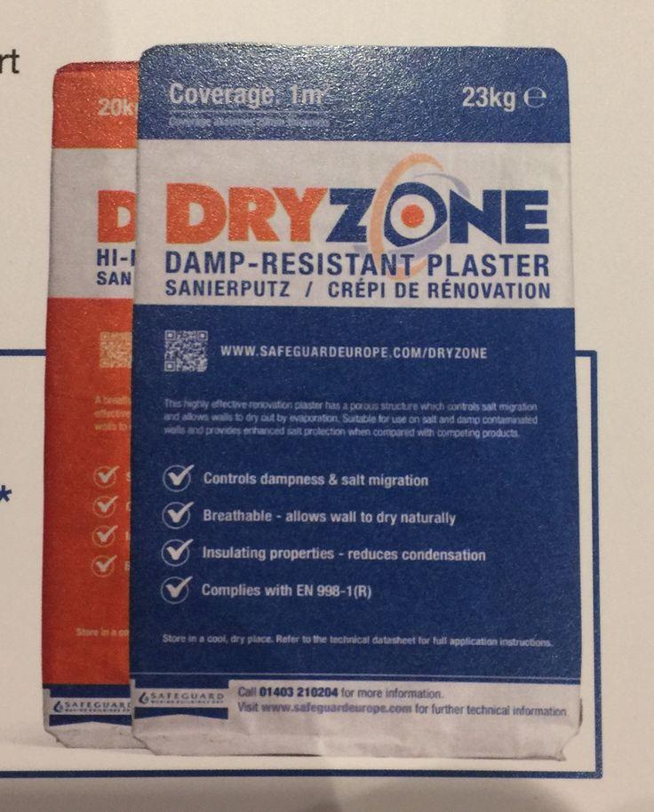 We Test Safeguards Dryzone Damp Resistant Plaster | All Dry Damp Proofing