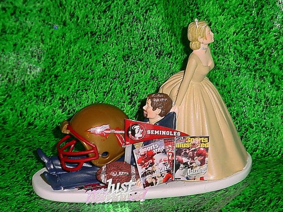 florida gator wedding cake toppers college football florida state by 14326