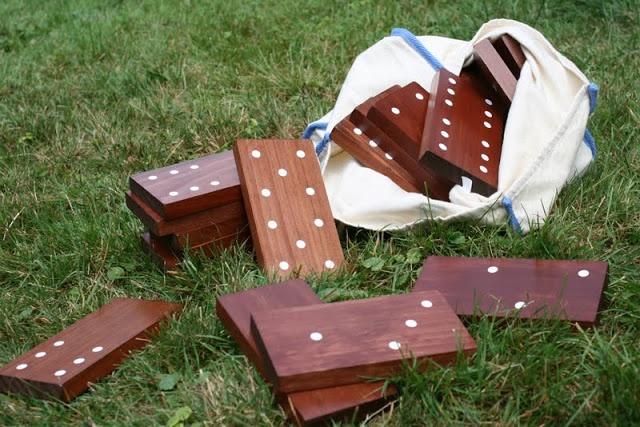 Giant Backyard Dominoes