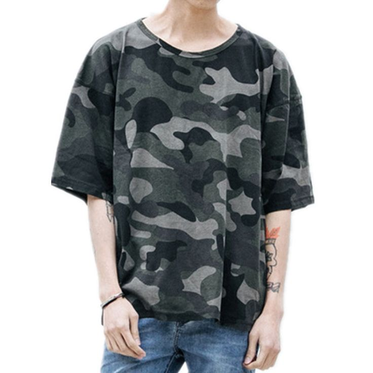 Camouflage Oversized Tees | $ 44.52 | Item is FREE Shipping Worldwide! | Damialeon | Check out our website www.damialeon.com for the latest SS17 collections at the lowest prices than the high street | FREE Shipping Worldwide for all items! | Buy one here http://www.damialeon.com/kanye-west-urban-style-camouflage-oversized-tees-loose-fit-baggy-streetwear-camo-tshirt-for-hipster/ |      #damialeon #latest #trending #fashion #instadaily #dress #sunglasses #blouse #pants #boot #trainer #shoes…