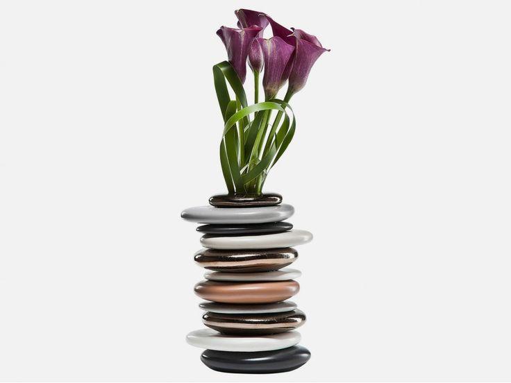 Wazon Pebbles Mocca I — Wazony — KARE® Design