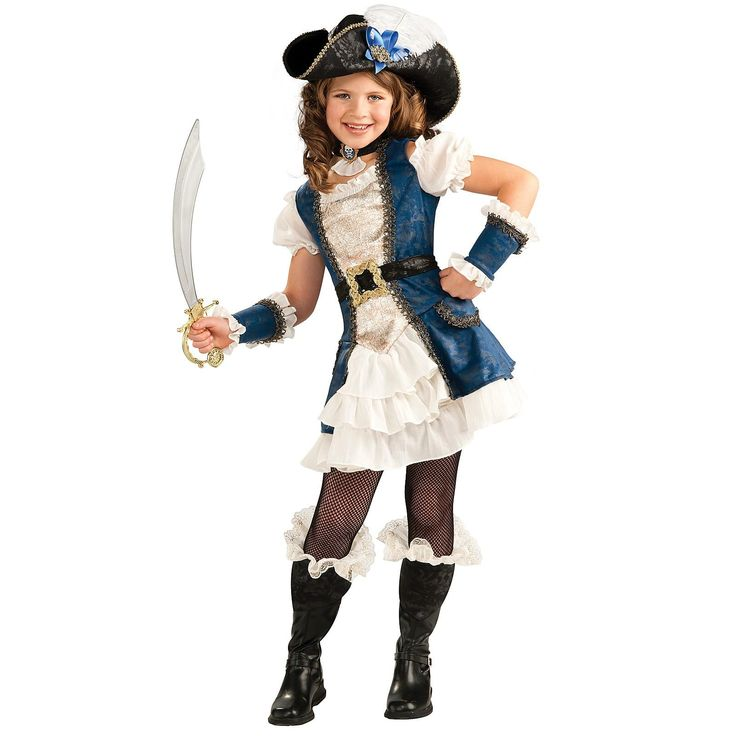 Blue Pirate Girl Child Costume  sc 1 st  Pinterest & 43 best Halloween costumes images on Pinterest | Costume ideas ...