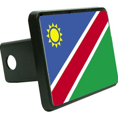 Namibia Flag Trailer Hitch Cover