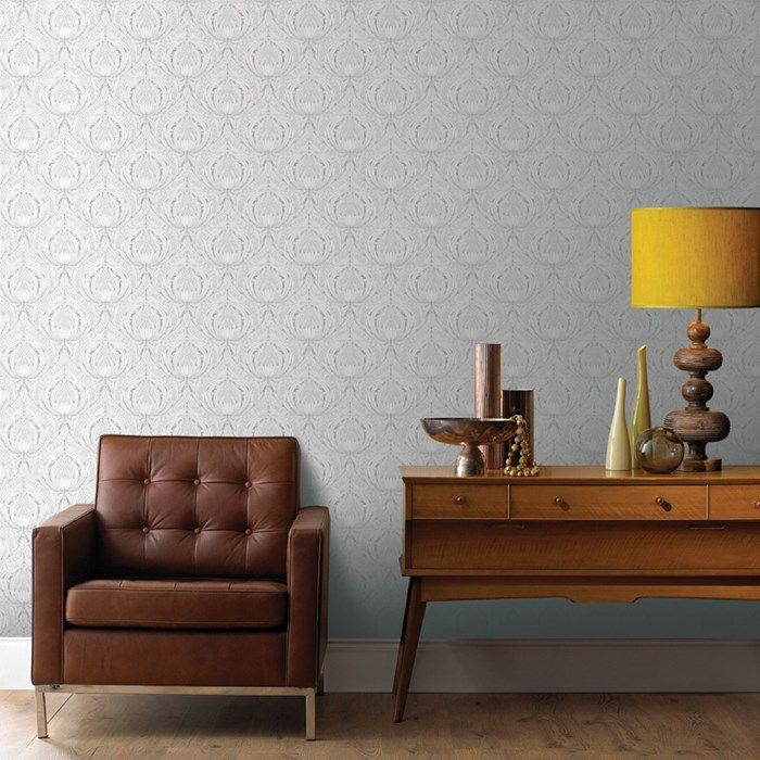 Voyesy Taupe Wallpaper - Graphic Wall Coverings by Graham  Brown