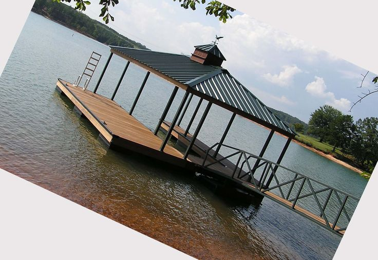 floating boat dock with covers - Google Search