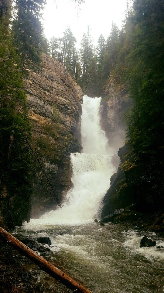 Morell Falls, Seeley Lake, MT by Blythe Siebernaler