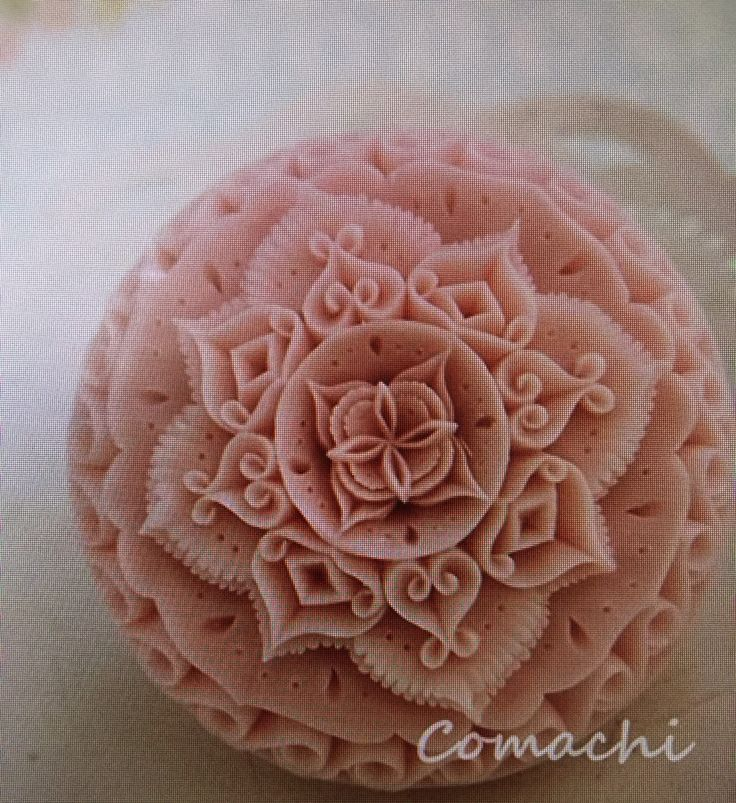 ソープカービングSoap carving work#craft#石鹸彫刻#Soap flower