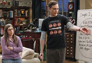 Exclusive Big Bang Sneak Peek: Sheldon and Amy Brainstorm Halloween Costumes #TBBT