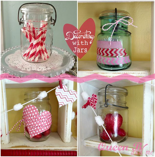 Best Valentine Jar Crafts Images On Pinterest Jar Crafts