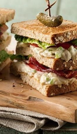 How high can you stack your sammies? This fun spin on a classic cub sandwich is sure to be a crowd pleaser for game day. Want to whip them up even faster? Use Betty's make-ahead shredded chicken breast from your freezer. Click through for both recipes!