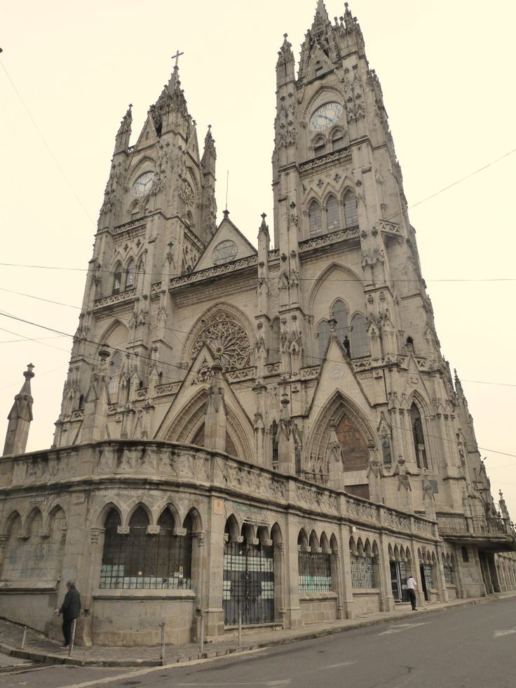 Basilica of the National Vow, #Quito #Ecuador