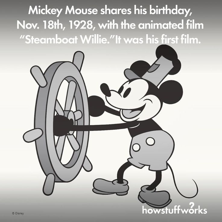 disneys mickey mouse shares his birthday november 18
