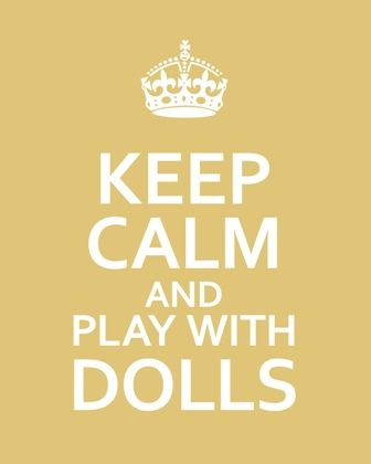 Even us older ladies like to get our hands on dolls!