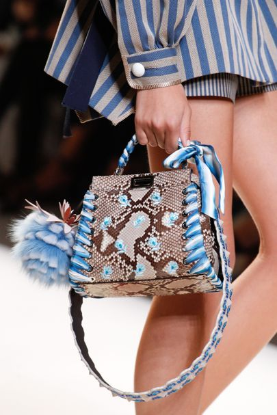 The Best Designer Bags And Trends From Spring Summer 2017 Fashion Collections So