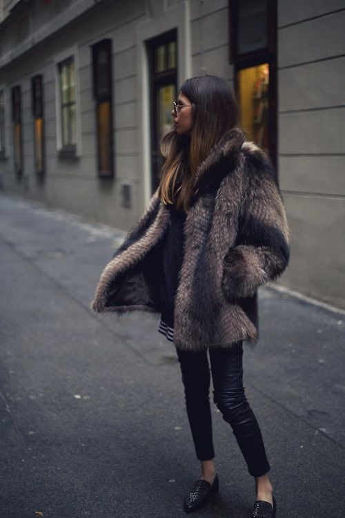 WOW Brown Winter Outfit Ideas : Street Style : MartaBarcelonaStyle's Blog