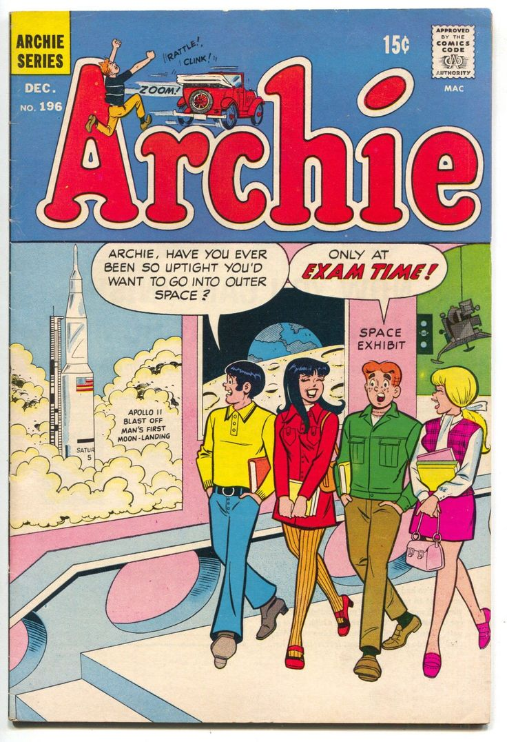 Archie 196 1969 FN VF Apollo 11 Moon Landing Space Musueum Betty Veronica