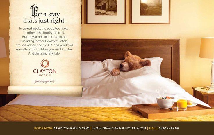 Clayton Hotels: No fairy tale, - Publicis Ireland