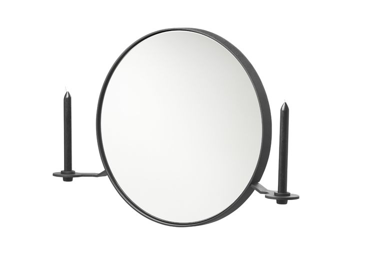 Functionals, 101 Candelabra mirror black, Design: Kranen/Gille http://functionals.eu/products/accessories/101
