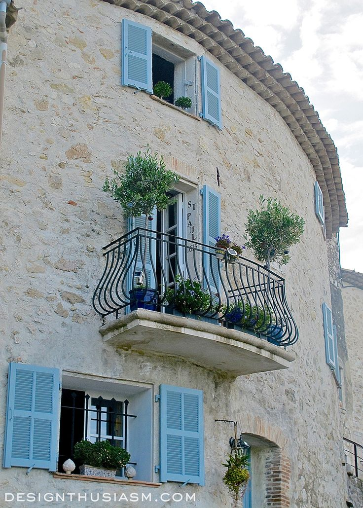 Saint Paul De Vence The Prettiest Hilltop Village In France French BalconyJuliet