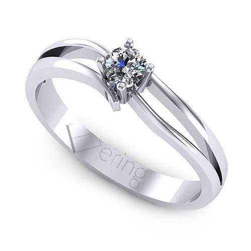 Inel logodna L110ADI cu diamante