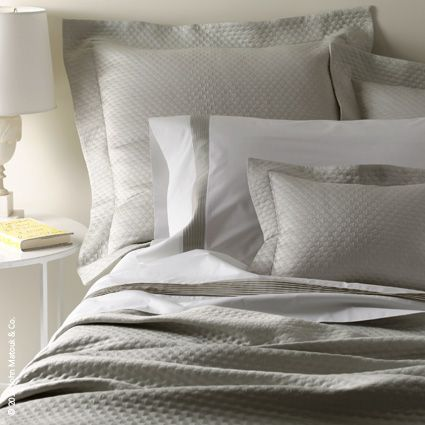 Allover Pearl Design Accentuates The Beauty Of This 100% Egyptian Cotton  Pearl Matelasse By Matouk