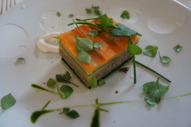 Flocons de Sel - Restaurant 3 étoiles d'Emmanuel Renaut #Megève #France #Restaurant #Michelin #MilleFeuille #Vegetal #Gastronomie
