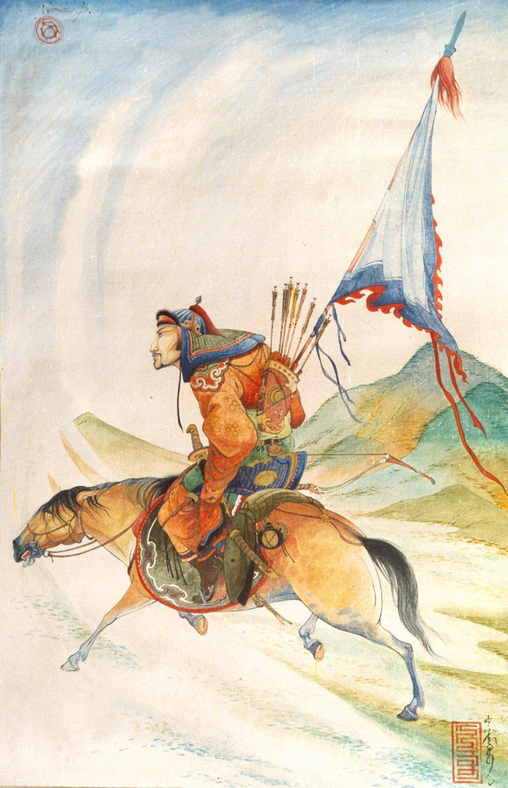 'SOLDIER WITH FLAG' poster and water color,2000