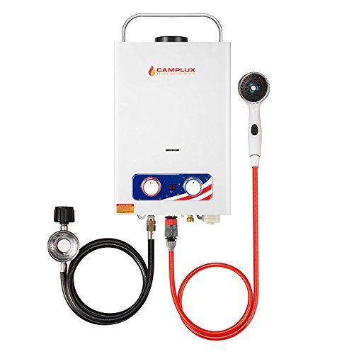 Camplux Pro 6l 1 58 Gpm Outdoor Portable Propane Tankless Https Www Amazon Com Dp B073f1pvhn Ref C Tankless Water Heater Gas Gas Water Heater Water Heater